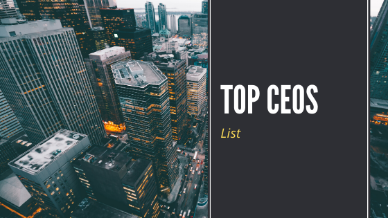 list of top ceos