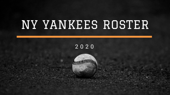 ny yankees 2020 roster